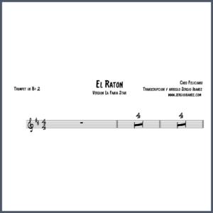 El Raton Cheo Feliciano Original - Trumpet in Bb 2 partitura