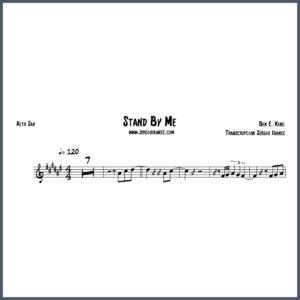 Stand By Me - Alto Sax partitura