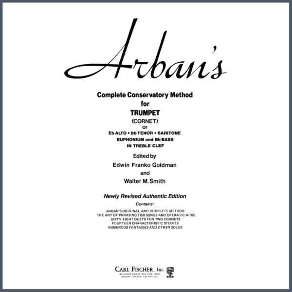 Método de Trompeta Arban's
