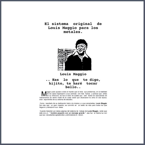 Método de Trompeta Louis Maggio