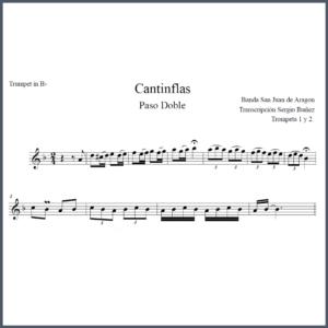 Cantinflas Partitura